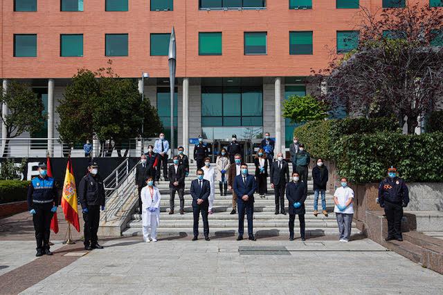Alcobendas rinde homenaje a las víctimas del Coronavirus