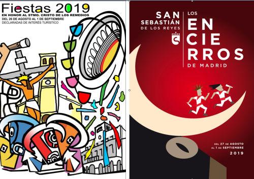 El Ayuntamiento publica las bases del concurso de carteles de las Fiestas del Cristo de los Remedios y los Encierros de Sanse 2020,