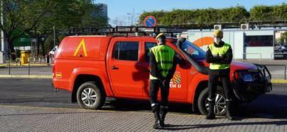 La Unidad Militar de Emergencia ya está ayudando a la policía local de San Sebastián de los Reyes