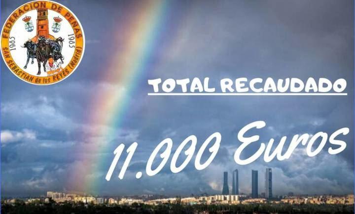 Las peñas de San Sebastián de los Reyes reúnen 11.000 euros para el hospital
