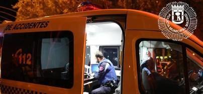Detenido en Sanse después de atropellar a un ciclista en Madrid y darse a la fuga