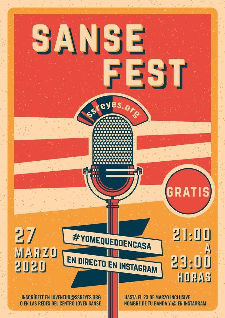 Sanse acerca la música de los artistas locales a cada casa gracias al #YoMeQuedoEnCasaSanseFest