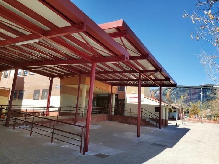 Concluyen las obras de los colegios Antonio Machado y Tierno Galván