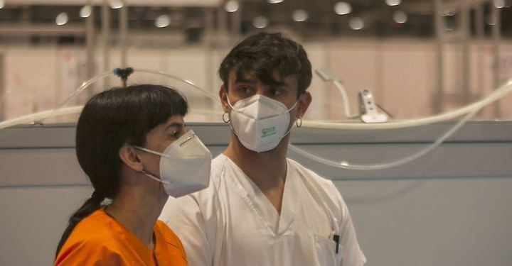 Repuntan los fallecidos diarios en la Comunidad Madrid y descienden los infectados