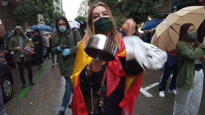 Concentraciones de protesta en la Comunidad de Madrid contra el Gobierno