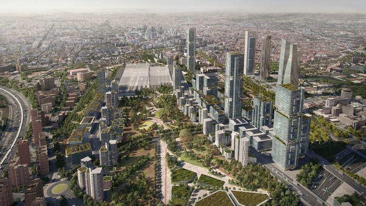 La Comunidad da luz verde al proyecto final de Madrid Nuevo Norte