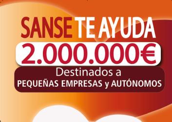 Dos millones de euros para autónomos y Pymes