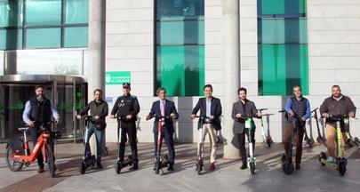 Más bicicletas y patinetes eléctricos