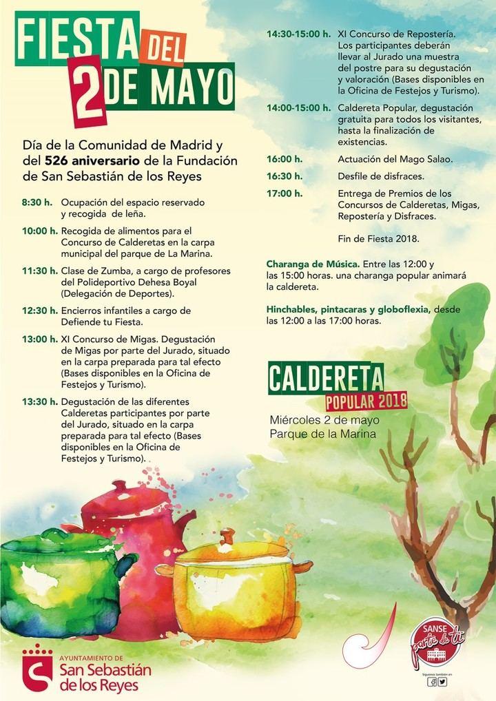 Concurso de Calderetas, Migas y Repostería en Sanse
