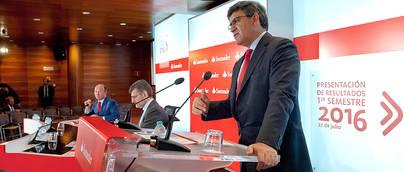 El Banco de Santander arruina a una parte importante de sus accionistas