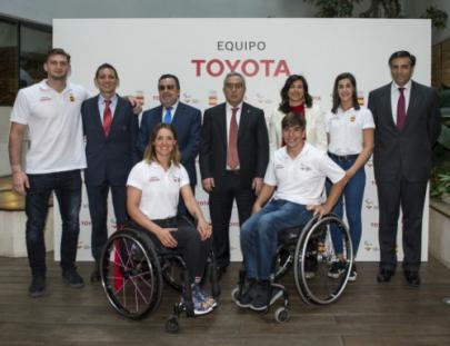 Toyota, una de las empresas de nuestro entorno, apoya el deporte olímpico
