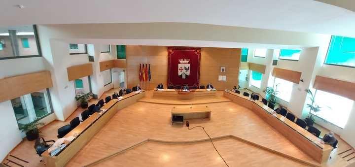 Pleno extraordinario del Ayuntamiento de Alcobendas