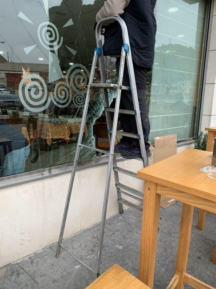 Nuevo intento de alunizaje en un restaurante de Alcobendas
