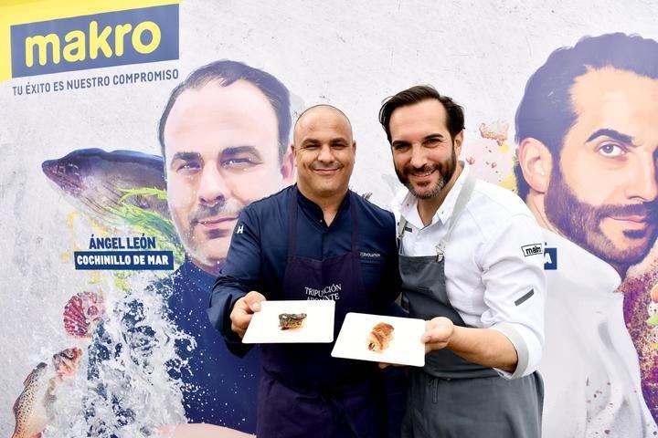 Makro organiza una batalla culinaria entre dos de los Chefs del momento