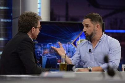 Santiago Abascal bate el récord de audiencia de los políticos en el Hormiguero