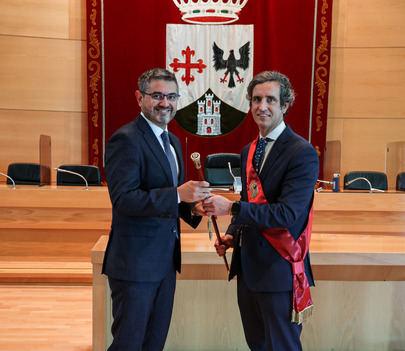 Aitor Retolaza nuevo alcalde de Alcobendas