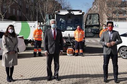 El Ayuntamiento activa el contrato de limpieza para el barrio de Moscatelares