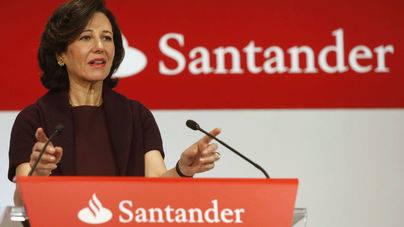 Desplome de las acciones del Banco Santander