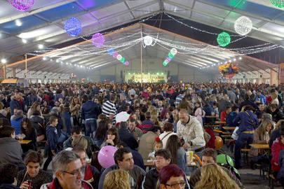 Afluencia masiva a las Fiestas de San Isidro