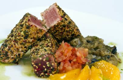 Imagen del plato con el concursó el restaurante El Faro Real 52