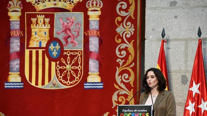 Ayuso cierra la Comunidad de Madrid