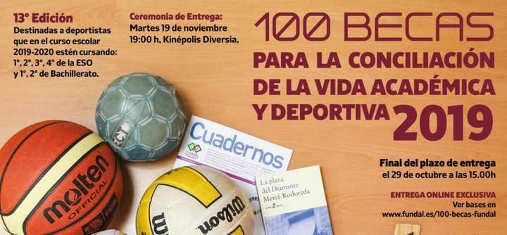 FUNDAL entregará sus 100 becas a jóvenes deportistas el día 19 de noviembre