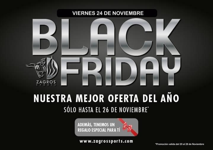 Promoción especial del gimnasio ZAGROS por el Black Friday