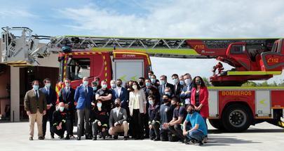 Por fín, el nuevo parque de bomberos de Alcobendas ya es una realidad