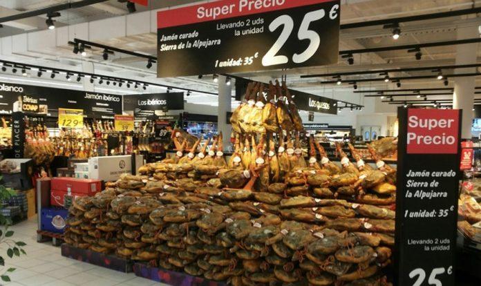 Carrefour se aprovecha de la confusión de los jamones polacos