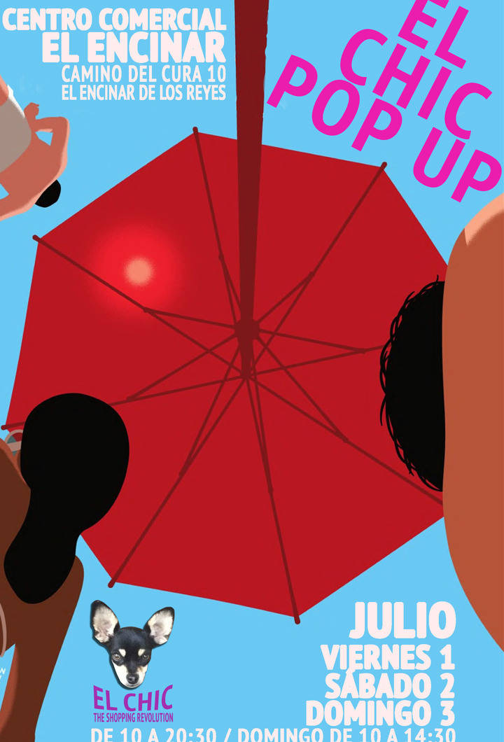 CHIC POP UP en el centro comercial del Encinar