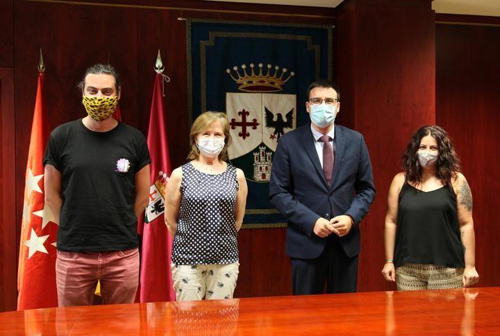 El Ayuntamiento de Alcobendas renueva el convenio con el consejo de la juventud