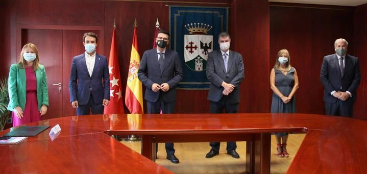 El Ayuntamiento de Alcobendas y la Universidad Autónoma firman un convenio para fomentar la innovación