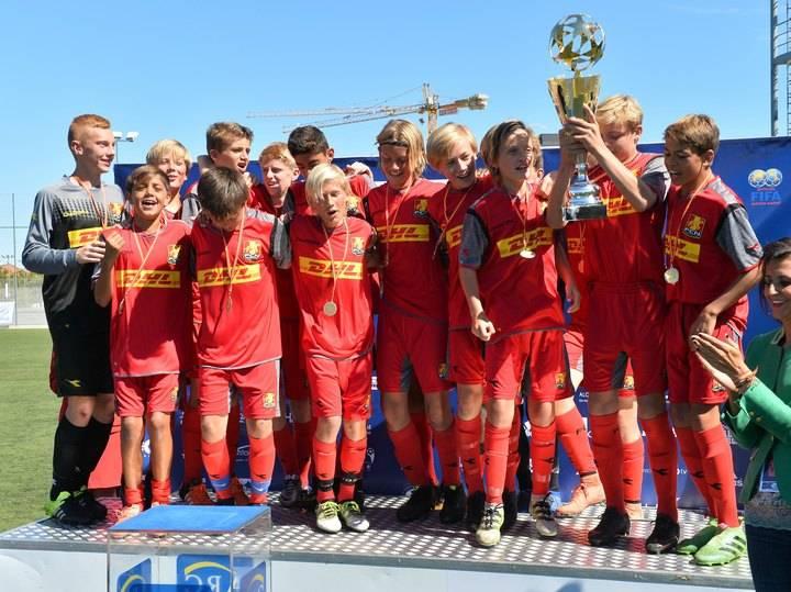 Un conjunto danés da la campanada en la ARC Madrid Football Cup 2016