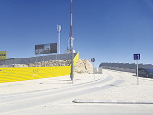 El Gobierno insiste en recalificar a residencial las parcelas del principio del Camino Ancho