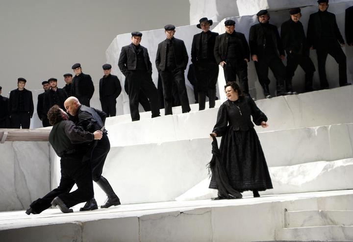 Ciclo de óperas producidas por el Teatro Real