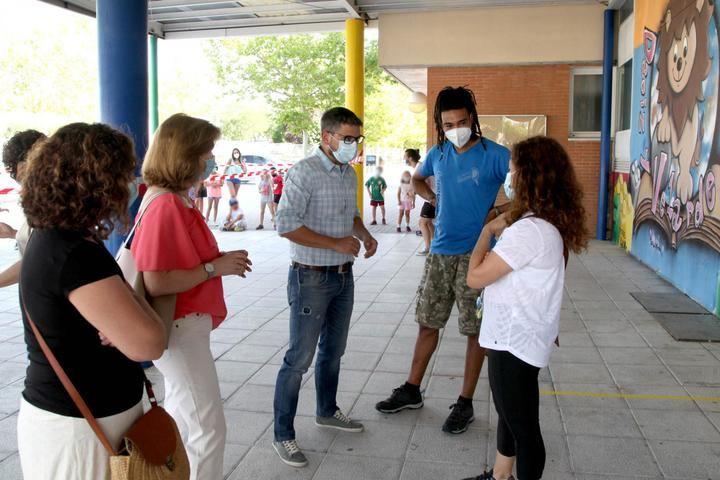 Continúan las colonias de verano en ocho colegios de Alcobendas