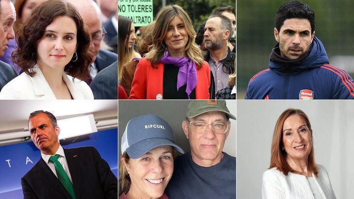 Personas famosas afectadas por el Coronavirus