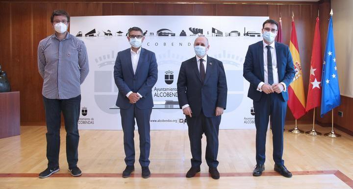 Alcobendas fue el escenario elegido por Star Tic Innovación para la entrega de 1.000.000 de mascarillas a la FEMP