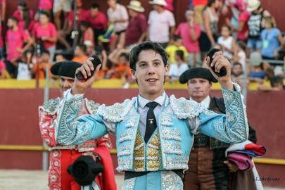 Imagen del torero Diego García