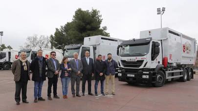 Diez nuevos vehículos de recogida de residuos