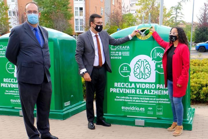 San Sebastián de los Reyes y Alcobendas se unen a la campaña solidaria de Ecovidrio