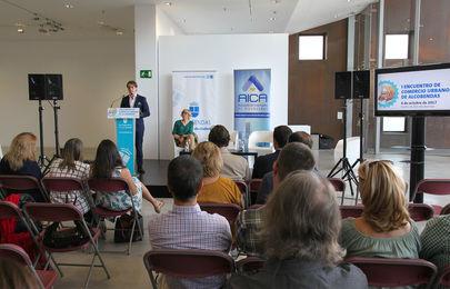 Imagen de una de las ponencias que se celebraron el año anterior en el I Encuentro del Comercio Urbano de Alcobendas