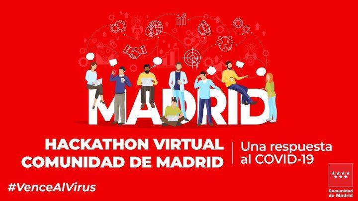 La Comunidad de Madrid abre el plazo de inscripciones para el hackathon virtual #VenceAlVirus