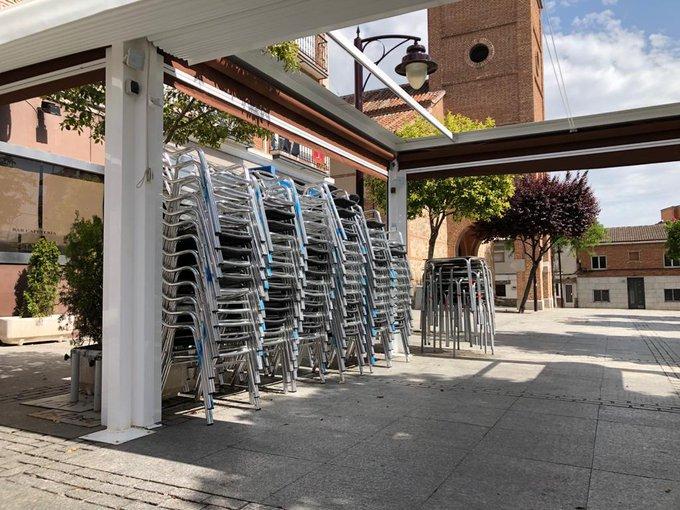 El Gobierno municipal de Sanse aprueba la exoneración de las tasas de terrazas para los hosteleros afectados por el Estado de Alarma