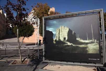 Imagen de una de las imágenes que se pueden ver en el Bulevar Salvador Allende.