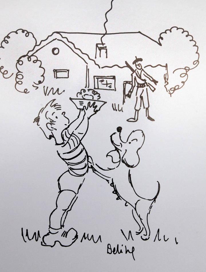 Alcobendas expone 'Los dibujos de El camino' de Miguel Delibes