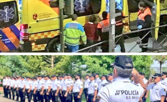 El Partido Popular propone condecorar a laProtección Civil y a los agentes de Policía Local de San Sebastián de los Reyes