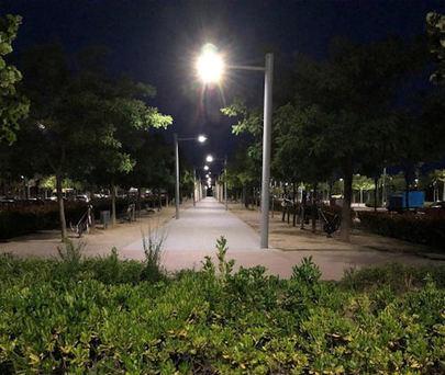 El Ayuntamiento de Sanse mejora con tecnología LED la iluminación en Tempranales