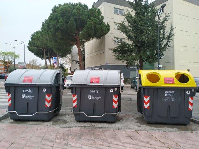 Los vecinos de Sanse reciclaron más envases y vidrio durante el estado de alarma