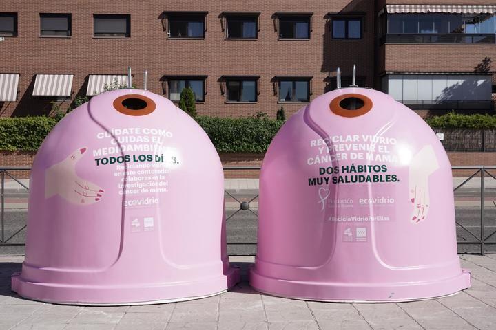 """Alcobendas y Sanse con la campaña """"Recicla Vidrio por ellas"""""""